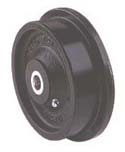 FLD Series Flanged Ductile Iron (Solid) Wheels